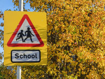 School sign Royalty Free Stock Photography