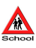 School signal Royalty Free Stock Images