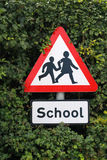 A School Signpost Royalty Free Stock Photo