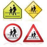 School Signs Stock Image