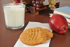 After school snack Royalty Free Stock Image