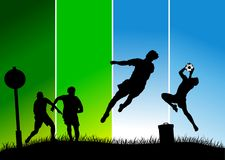 School soccer Stock Image