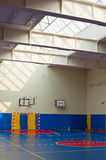 School sport training hall Stock Photos
