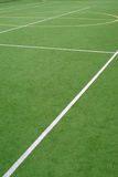 School sports field. View on the school sports field royalty free stock photo