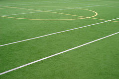 School sports field Stock Photo