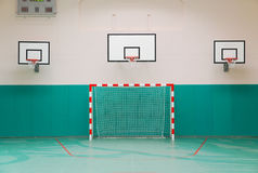 School sports hall Royalty Free Stock Image