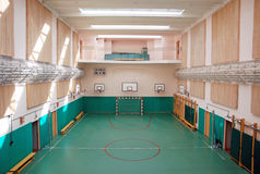 School sports hall Royalty Free Stock Photos