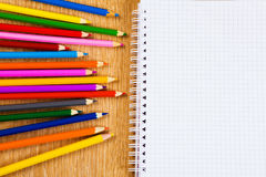 School stationary Stock Image