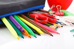 School stationery Royalty Free Stock Image