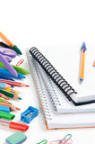 School stationery Royalty Free Stock Images