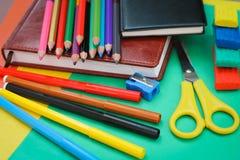 School stationery Royalty Free Stock Image