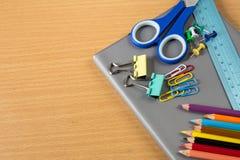 School stationery Royalty Free Stock Photography