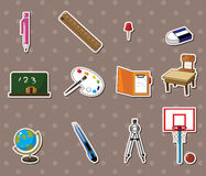 School stickers Royalty Free Stock Images