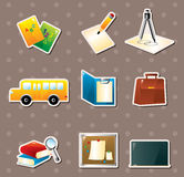 School stickers Stock Images