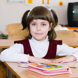 School Student at the class - Education concept. Back to school royalty free stock image