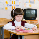 School Student at the class - Education concept. Back to school stock images