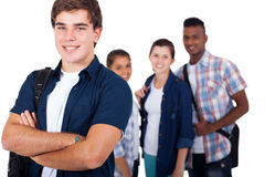 School student friends Royalty Free Stock Images