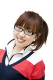 School student girl Royalty Free Stock Image