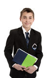 School student with text books Stock Image