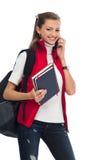 School-Studentin Lizenzfreie Stockbilder