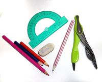 School, study kit Royalty Free Stock Photo
