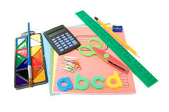 School stuff Royalty Free Stock Photos