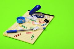 School stuff Stock Image