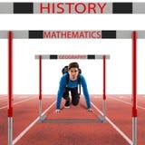 School subjects goals Stock Images