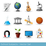 School Subjects Stock Images