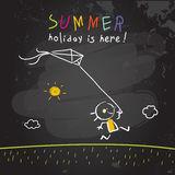 School Summer vacation, holiday Royalty Free Stock Images