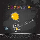 School Summer vacation Stock Images