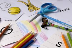 School Supplies 1 Stock Photos