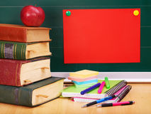 School supplies. Stock Photography