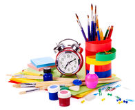 School supplies. Stock Image