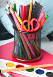 School supplies. Stock Images