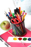 School supplies. Royalty Free Stock Photos