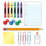 School Supplies Stock Images