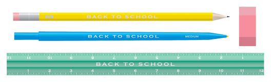 Free School Supplies Stock Photography - 2850492