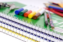 School Supplies 3 Stock Image