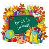 School supplies. Education concept. Royalty Free Stock Photos