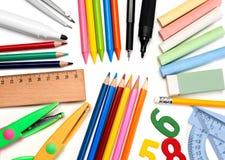 School supplies Stock Photos
