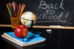 School supplies. Royalty Free Stock Photography