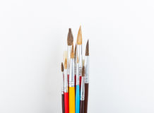 ,school supplies,special artistic equipmen Royalty Free Stock Images