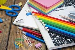 School supplies Royalty Free Stock Photo