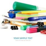 School supplies Royalty Free Stock Photos