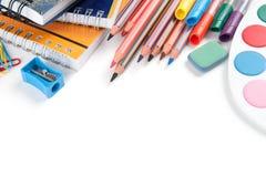 School supplies Stock Photography