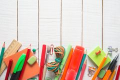 School supplies Royalty Free Stock Photo