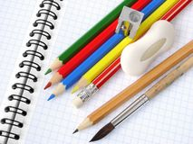 School supply Royalty Free Stock Photos