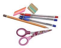School supply set Royalty Free Stock Photography