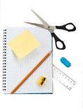 School supply set Royalty Free Stock Image